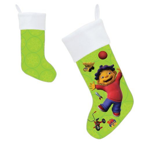 PBS KIDS Сид Наука Kid Ура рождественский чулок