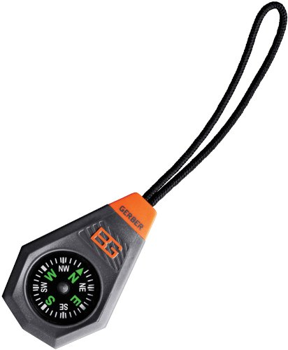 You won't always know where you're at, but with the Compact Compass you can know what direction you're heading. Small and lightweight, this compass comes in a durable housing with an attached lanyard that makes it easy to take it with you whe...
