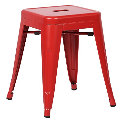 Poly and Bark Trattoria 18 Stool in Red