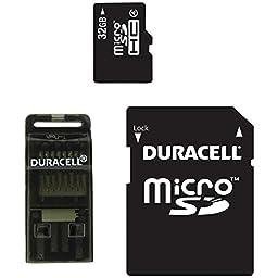 32GB/4 MICROSD W/ADPTR