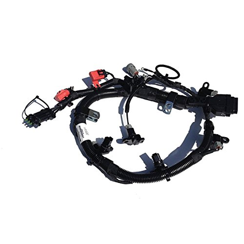 3076352 Cummins N14 Celect External Engine Injector Wiring Harness CPL 1807,09,44 Uses ECM 3084473