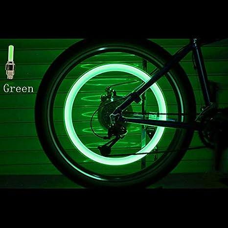 X-BAOFU, Luz de Bicicleta Tapa de Rueda Cubierta de Aire del ...