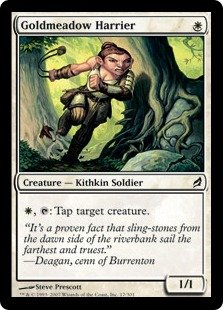 Magic the Gathering Lorwyn - Goldmeadow Harrier Common 17/301 ()