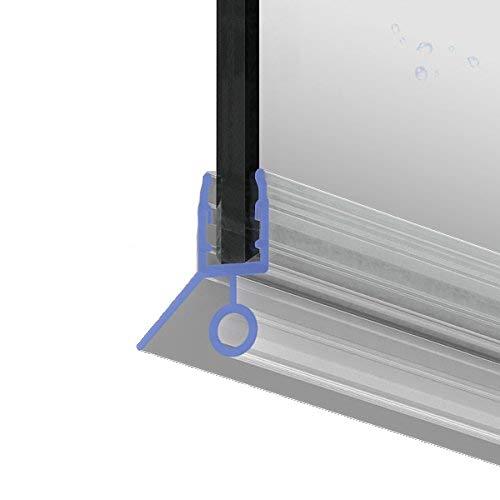 100cm M4 -- Ersatzdichtung für 6mm/ 7mm/ 8mm Glasdicke Wasserabweiser Duschdichtung Schwallschutz Duschkabine .one-bath