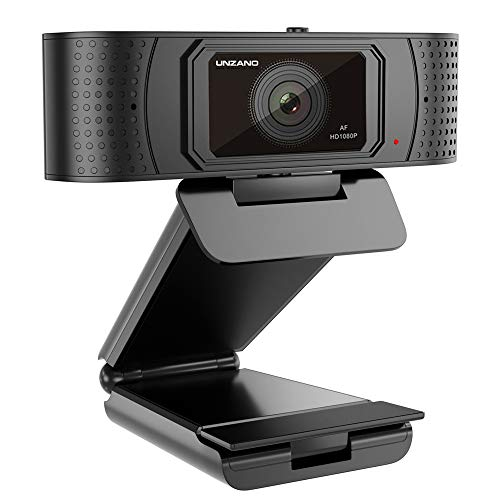 HD Webcam 1080p With Privacy Shutter, Pro Streaming Web Camera With Dual Microphone External USB Computer Camera for PC Laptop Desktop Mac Video Calling, Conferencing Skype Xbox One YouTube OBS (Laptop Computers With Camera)