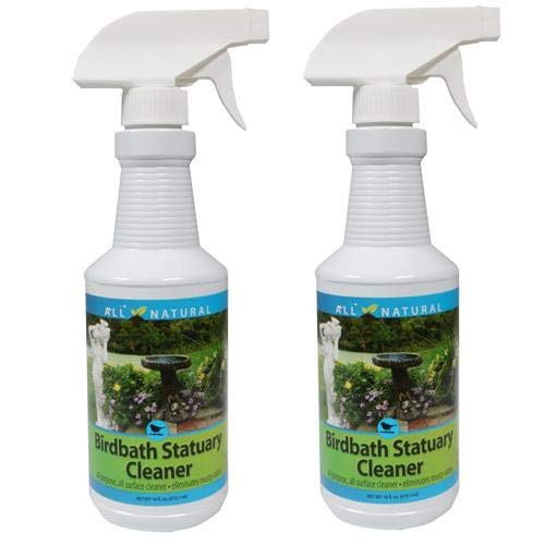 2-Pack Care Free Enzymes Birdbath Statuary Cleaner Spray Bottle 98510D 16 oz. by CareFree Enzymes Inc.