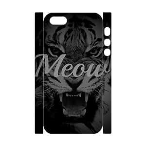 3D Case For Sam Sung Galaxy S4 Mini Cover Case Meow, Case For Sam Sung Galaxy S4 Mini Cover Case Typography, [White]