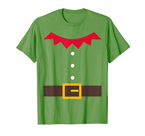 Elf Costume Elf Suit Christmas Holiday Fun T-Shirt