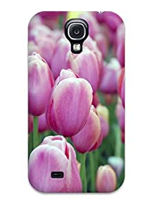 tiffany moreno's Shop Hot Case Cover Protector For Galaxy S4- Pink Tulips