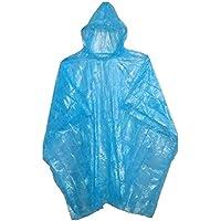 Sara Glove Emergency Disposable Rain Ponchos 8 Colors -...