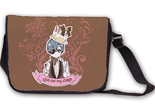 Siawasey Anime Black Butler Cosplay Handbag Messenger Bag Backpack Shoulder Bag