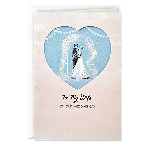 Hallmark Wedding Day Card from Husband (to My Wife On Our Wedding Day)