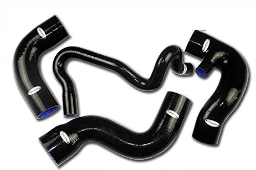 TT Racing Black Silicone Turbo Hose Kit for Audi A4 1.8T 1800 Quattro Passat B5 Chassis (Turbo Hose Kit)
