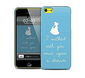 sleeping beauty once upon quote iPhone 5c protective phone case by icecream design