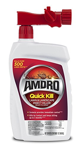 AMDRO Quick Kill Ready to Spray Lawn and Landscape Insect Killer, 32 oz. (Concentrate Garden Bug Sevin)