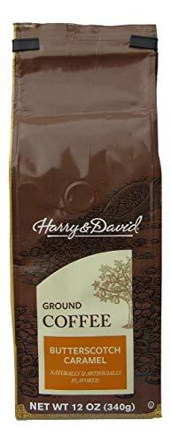 Harry & David Butterscotch Caramel Gourmet Ground Coffee (12 Ounces) ()