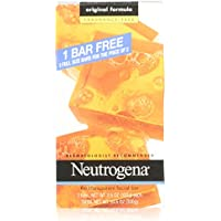 Neutrogena Facial Cleansing Bar Fragrance Free 3 Count + $5 Gift Card