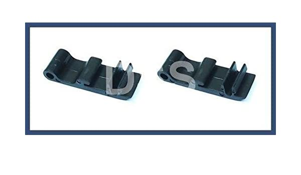 Porsche 911 GENUINE Set of 2 Clips for Sunroof Air Deflector Hinge 91156412300