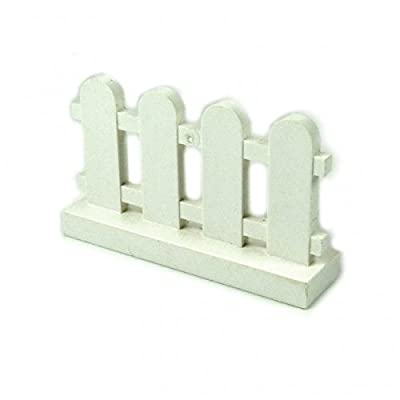 Lego Building Accessories 1 x 4 x 2 White Picket Fence, Bulk - Lot of 10 Loose Parts: Toys & Games