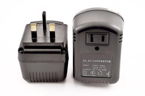 VM 45UK USA to UK Travel Voltage Converter for UK for Using American Electronics in UK, 45 Watt (Transformer Voltage Uk)