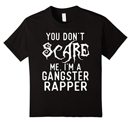 Kids Funny Gangster Rapper Shirts Halloween Costume Joke Gag Gift 10 Black - Gangster Girl Costumes Ideas