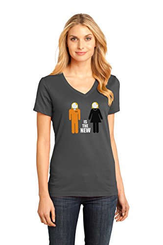 Orange Prison Jumpsuit Womens (Chic Dress to Prison Jumpsuit T-Shirt as Inspired by Orange is the New Black)