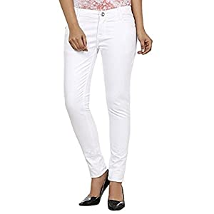 Adbucks Women's Silky Cotton Denim Stretchable Jeans