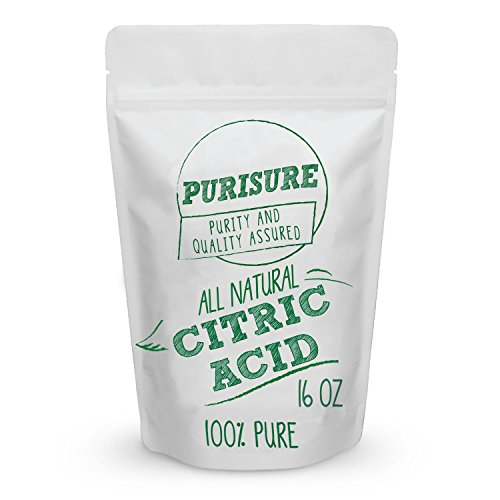 (Food Grade Citric Acid Powder 16oz | Non-GMO | Natural & Effective Food Preservative | Cleaning Agent | Enhance Your Recipes | Natural Cleaner & Descaler | Beauty Ingredient)