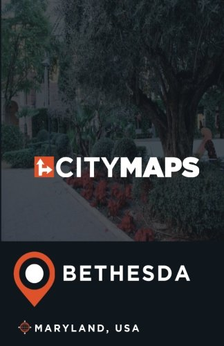 City Maps Bethesda Maryland, USA