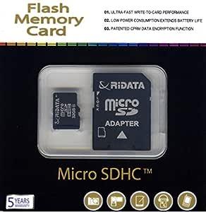 Ridata - , tarjeta microSD de 32 GB, tarjeta de memoria SDHC ...