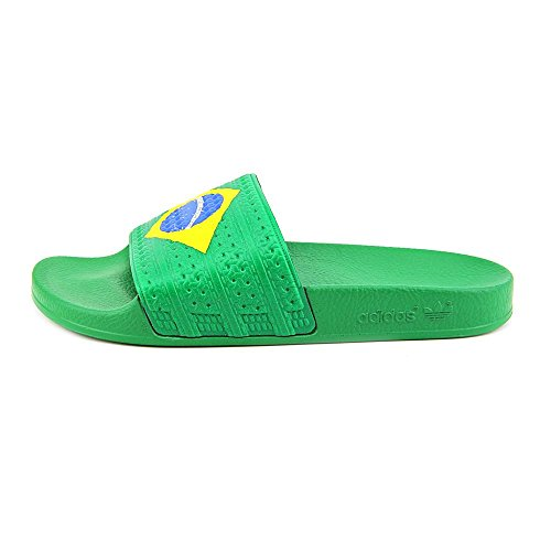 0777867c0d20cb Adidas Mens Adilette Flags Brazil Colorway D65794 7  Amazon.co.uk  Shoes    Bags