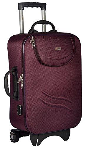 TREKKER Polyester 50 cms Purple Softsided Cabin Luggage  TTB STDPT20 PL