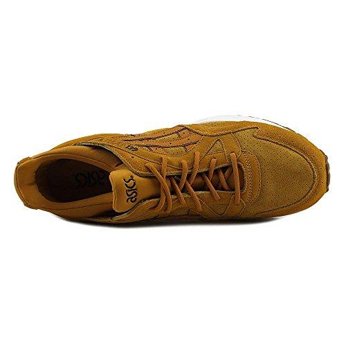 Asics-Gel-Lyte-V-Men-Round-Toe-Suede-Tan-Running-Shoe