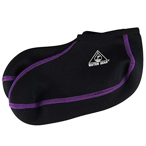 Water Gear Fin Socks, Extra Small (Purple Stitching)