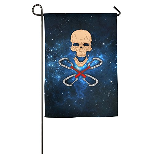 Team Celebration Gnomes (FWOVDS Skull Cuff Garden Flag 1218 Inch / 1827 Inch)