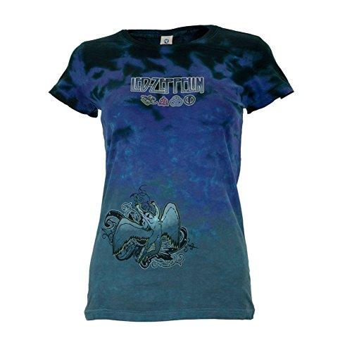 Led Zeppelin - Icarus Tie Dye Juniors T-Shirt - Medium