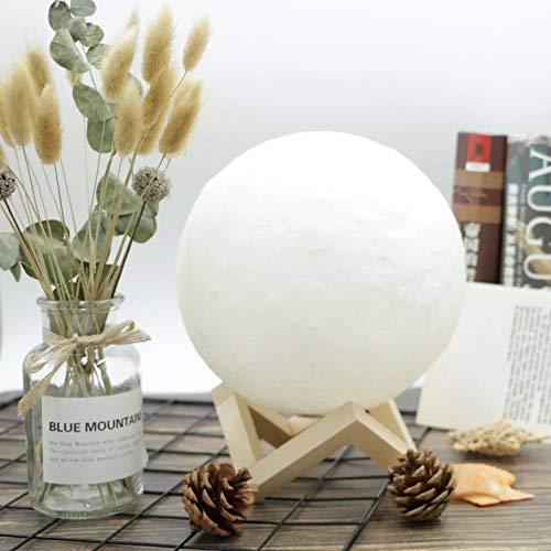 Amazon.com: Humidificador Lamp- 5,1 pulgadas 3D Luna Lámpara ...