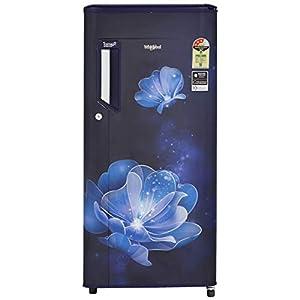 Whirlpool 190 L 3 Star Direct-Cool Single Door Refrigerator (205 IMPOWERCOOL PRM 3S SAPPHIRE RADIANCE-E, Sapphire…