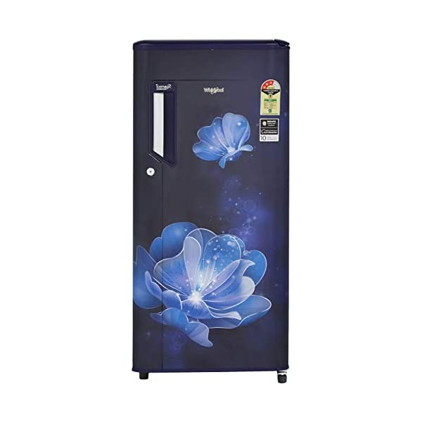 Whirlpool 190 L 3 Star Direct-Cool Single Door Refrigerator (205 IMPOWERCOOL PRM 3S SAPPHIRE RADIANCE-E, Sapphire… 2021 July Direct-cool refrigerator; 190 litres capacity Energy Rating: 3 Star Warranty: 1 year on product, 10 years on compressor