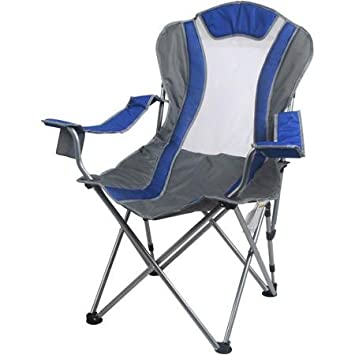 Ozark Trail 2-Position Reclining Chair with Durable Steel Frame Blue  sc 1 st  Amazon.com & Amazon.com : Ozark Trail 2-Position Reclining Chair with Durable ... islam-shia.org