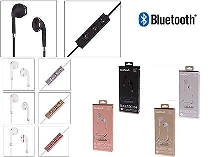 Auriculares Cascos Bluetooth INALAMBRICOS Recargables con MICROFONO