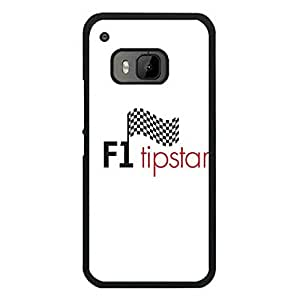 Pretty Design Fundas Case for HTC M9, HTC One M9, Motor Racing FIA F1 Logo Slim Fit Protective Hard Fundas Case Cover for Teens