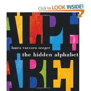 Laura Vaccaro Seeger'sThe Hidden Alphabet - Alphabet Hidden