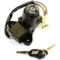 UVEMOTO - Cerradura de Contacto Clausor Kawasaki GPZ 400/500/600/900, GPX 600/1000, KLE 650