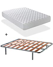 DAGOSTINO Home Florida matras, traagschuim, hardheidsgraad H3, hoogte 20 cm, orthopedische matras, schouder Plus, ook voor mensen met een allergie.