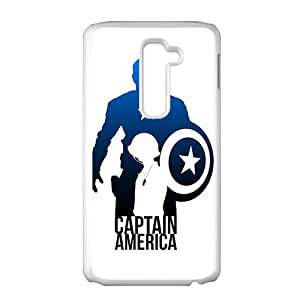 Brave Captain America Cell Phone Case for LG G2