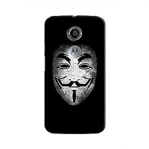 Cover It Up - Vendatta Mask Fade Moto X2 Hard Case
