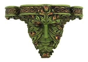 Celtic Green Man Wall Shelf Bracket Greenman