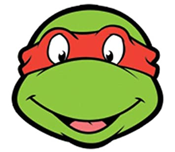 Raphael Teenage Mutant Ninja Turtles Face Mask (máscara ...