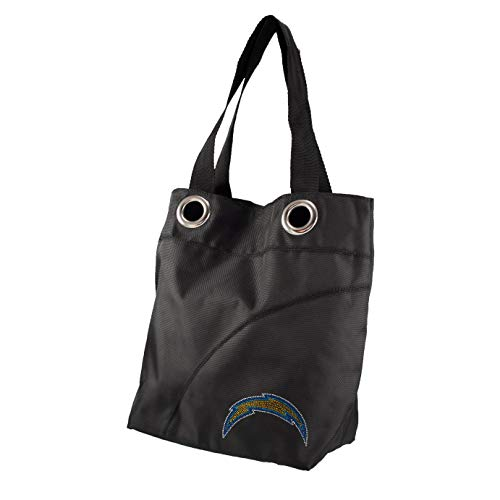 NFL San Diego Chargers Sport Noir Sheen Tote